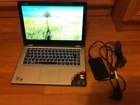"Lenovo Yoga 2 13.3"" i3 4th gen 4GB RAM 500GB HDD convertible laptop"