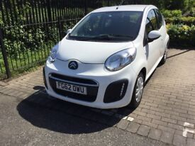 2012 CITROEN C1 VTR - A LOVELY LOW MILEAGE - ONE OWNER, VERY ECONOMICAL CAR, WITH ZERO ROAD TAX