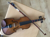 Stentor 1/4 and 1/8 violin - beautiful sound excellent condition