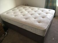 Double Bed for Sale – Divan base and mattress both included