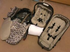 Tusk Design Mothercare Pram (3-Way Set)
