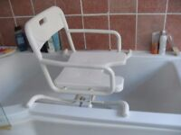 BATH SEAT SWIVEL STYLE HELPS USER INTO THE BATH CAN DELIVER