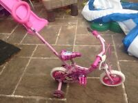 Hy there I'm selling a girls bike