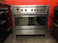 Smeg range electric cooker A1PYID-7 90cm S/S induction hob RRP £2449 free local delivery!!!