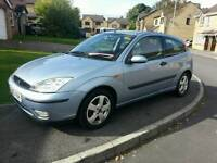 2005 (05) FORD FOCUS 1.6 PETROL ONLY 1 OWNER FSH LONG MOT MARCH 2017