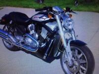 Harley-Davidson motorbike VRSCR Street ROD 3371 miles on clock never used in storage