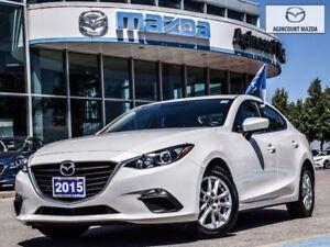 2015 Mazda Mazda3 GS-Heated Seats, Bluetooth, Back Up Cam, USB