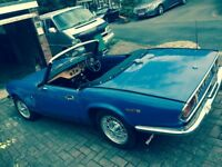Triumph Spitfife MK1V 1300 1971 long MOT and Tax exempt.