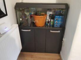 160L Fish Tank + All Accessories