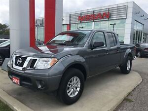2016 Nissan Frontier SV 4X4 CREW, BLUETOOTH, CRUISE, ALLOYS