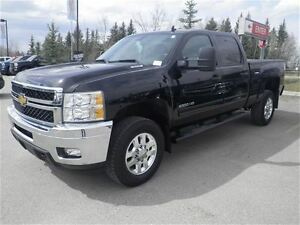 2013 Chevrolet SILVERADO 2500HD LT 4X4 GAS Heated Leather