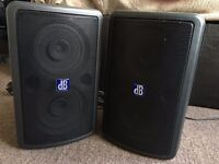 Rare DB Technologies L80 PA Speakers/Monitors Active Live Series
