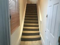 Refurbished two bed* double & single * part furnished * modern * close to shops *