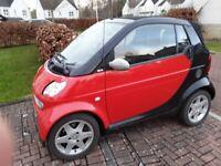 Smart, CITY-CABRIOLET, Convertible, 2005, Semi-Auto, 698 (cc), 2 doors