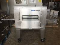 LINCOLN IMPINGER - CONVEYOR PIZZA OVEN - 32 INCH BELT GAS & STAND