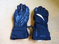 Salomon Ladies Small Thermolite Snowboard / Ski Gloves, Black