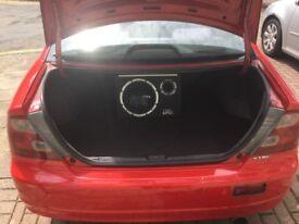 Honda civic 1.7 vtec coupe red