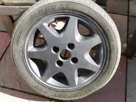 Ford Escort RS1600I ,Alloy wheels , Good Condition 195-50-15