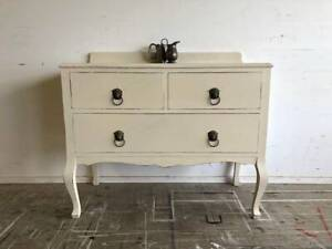 Vintage Shabby Chic Hall Table