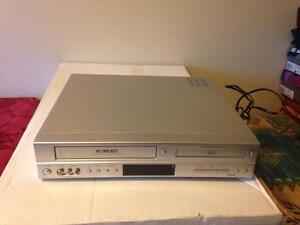 VCR and DVDS player