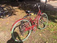 Raleigh Chiltern Sturmey Archer 3 speed ladies bicycle