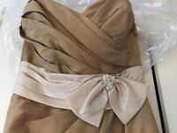 4 Toffee True Bride Bridesmaid dresses