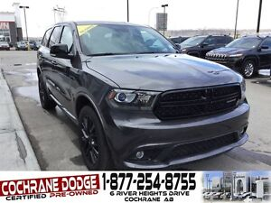 2015 Dodge Durango Limited 6 PASSENGER W/BLACKTOP PACKAGE!