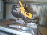 dewalt sliding miter saw