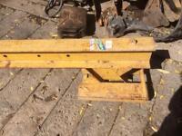 Forklift crane /jib /lift /digger/engine lift