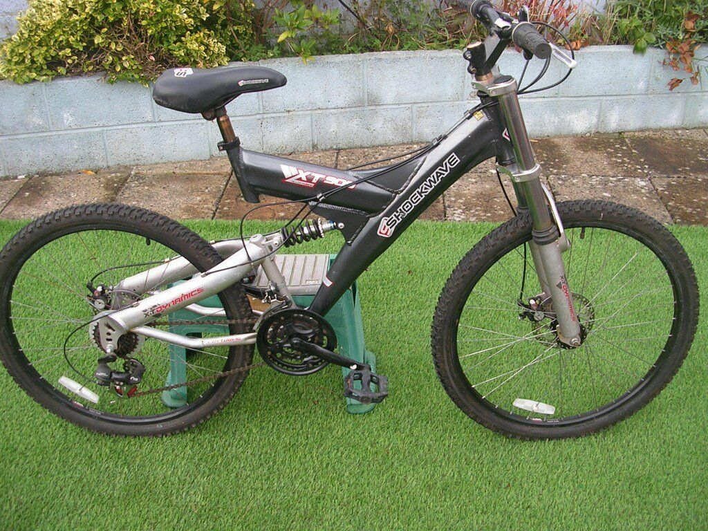 shockwave xt 900 full suspension mtb
