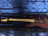 Schecter Jeff Loomis signature 7 string with hard case