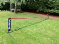 Tennis net for juniors