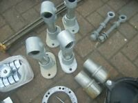 Job lot of metal items good quality ideal for projects etc