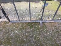 15ft Of Metal Railings / Wall Toppers- DELIVERY AVAILABLE