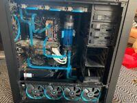 Watercooled 4790k Gaming Pc. 2 x GTX 780. 32gb ram. 750gb ssd.