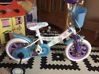 Girls Frozen Bike 20cm