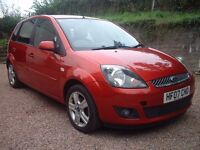 2007 Ford Fiesta 1.6 TDCi with tow bar and free roof rails.....