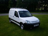 2007 CITREON BERLINGO 1.6 HDI DIESEL- FULL MOT - WITH SIDE DOOR/Van