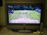 26 Inch Bush LCD HD Ready Slim TV with Freeview and HDMI