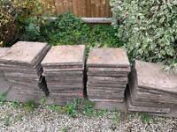 Garden slabs £1 each