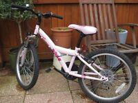 """Girls Apollo Kinx 20"""" mountain bike"""