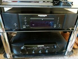 Marantz CD6004 CD Player with USB Input - Black 2x speakers