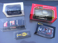 DIECAST SCALE MODEL CARS 50 of them in original boxes, 1/24 1/32 etc some larger £250 ono