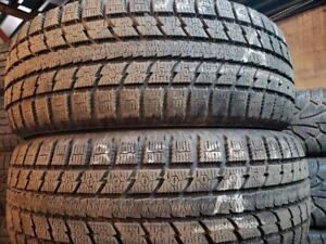2 winter tires Toyo 225/60r17 tt