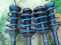Subaru Impreza Wrx Forester/ 4 complete Genuine Subaru Lowerered & upgraded suspension legs
