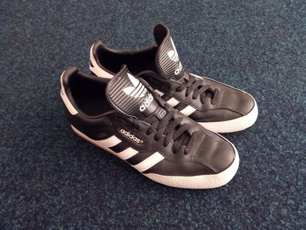 Mens Adidas Original SAMBA Trainers size 9  ccd83cacc