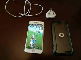 iPhone 6s + gold 64gb unlocked