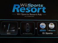 Nintendo Wii Sports Resort Pak + Wii Fit Plus