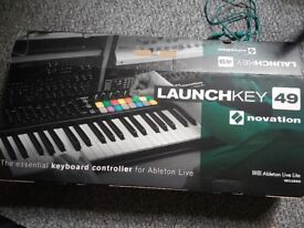 Novation Launchkey 49 MK2 Controller Keyboard with RGB Pads