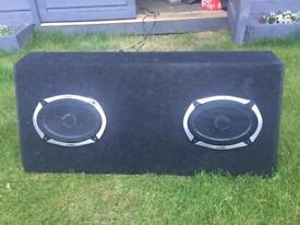 Speakers for boot